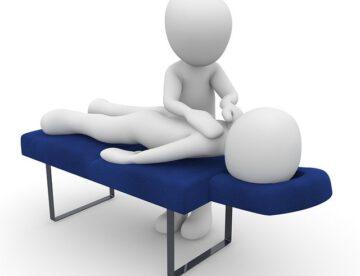 masaje en camilla
